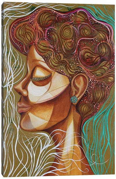 Rose Bush Canvas Art Print