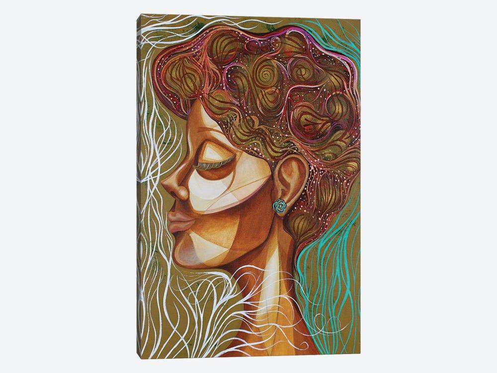 Rose Bush by Ashley Joi 1-piece Canvas Art Print