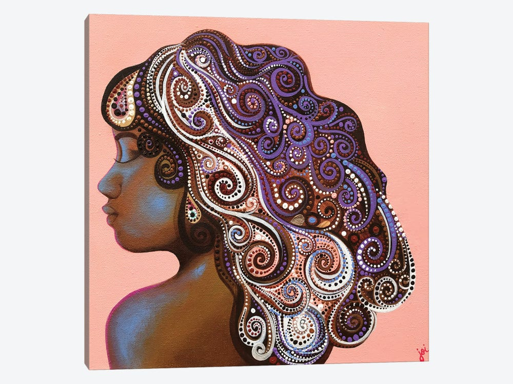 A Mother's Love: Daughter by Ashley Joi 1-piece Art Print