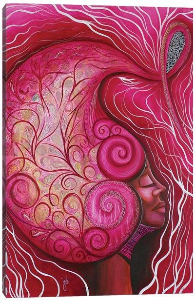 Oya The Warrior Canvas Art Print