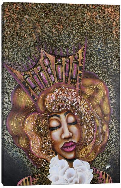 Princess Lola In Wonderland Canvas Art Print