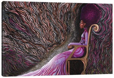 Power Canvas Art Print