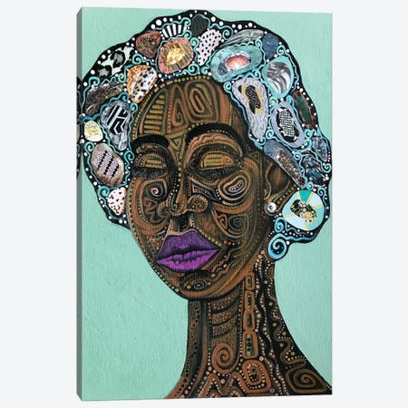 Miss Loretta Canvas Print #AHJ56} by Ashley Joi Canvas Art