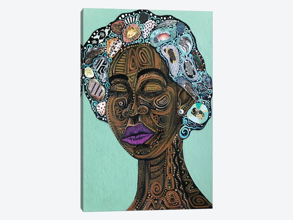 Miss Loretta by Ashley Joi 1-piece Canvas Wall Art