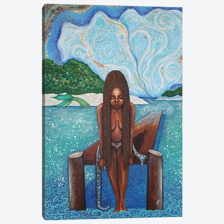 Path To Yemaya Canvas Print #AHJ57} by Ashley Joi Canvas Artwork