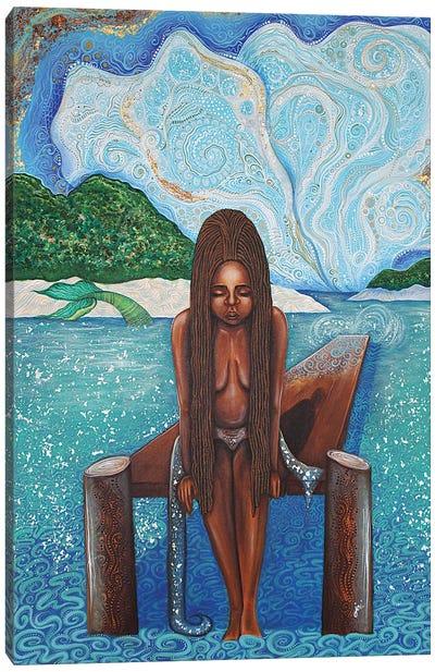 Path To Yemaya Canvas Art Print
