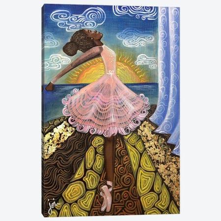 Before The Curtain Rises Canvas Print #AHJ6} by Ashley Joi Canvas Art Print