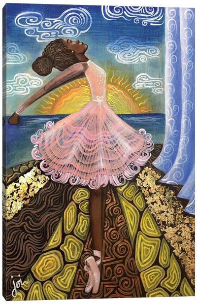 Before The Curtain Rises Canvas Art Print