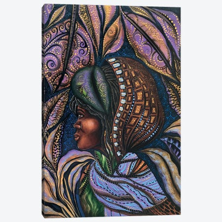 Harriet Under The Veil Of Night Canvas Print #AHJ9} by Ashley Joi Canvas Artwork