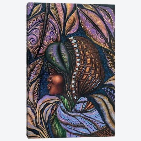 Harriet Under The Veil Of Night Canvas Print #AHJ9} by Ashley Joi Canvas Artwork