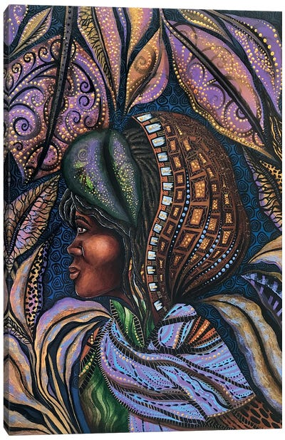 Harriet Under The Veil Of Night Canvas Art Print