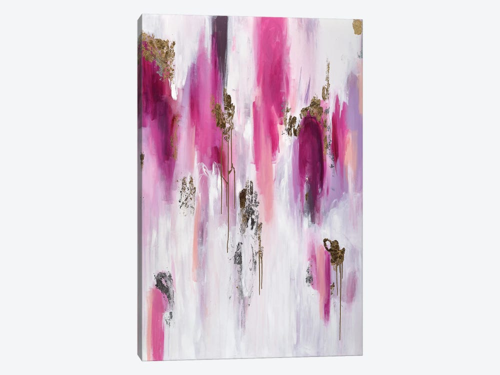 Raspberry Crush by Julie Ahmad 1-piece Art Print