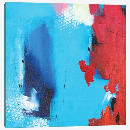 Bloody Hell I Canvas Print #AHM113} by Julie Ahmad Canvas Art