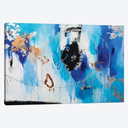 Blue My Mind Canvas Print #AHM115} by Julie Ahmad Canvas Art Print