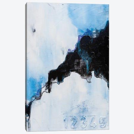 Broke Black Mountain Canvas Print #AHM118} by Julie Ahmad Canvas Art