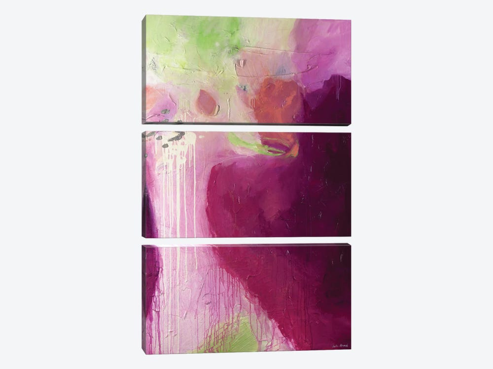 Blush by Julie Ahmad 3-piece Canvas Art