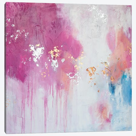 Butterfly Kisses Canvas Print #AHM120} by Julie Ahmad Canvas Print