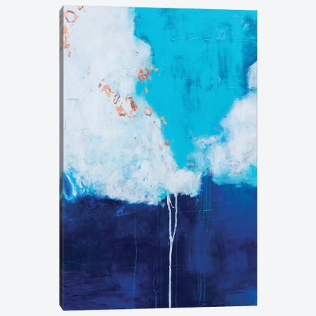 Dark and Stormy Daniels Canvas Print #AHM122} by Julie Ahmad Canvas Art Print
