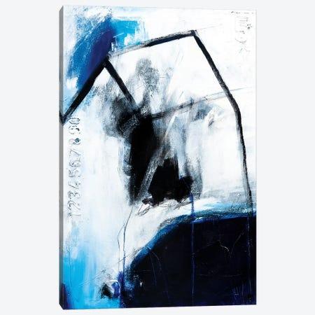 Little Girl Blue Canvas Print #AHM127} by Julie Ahmad Canvas Art