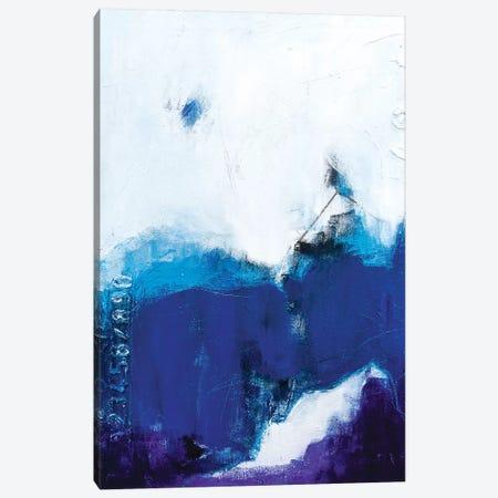 Little House On The Blueberry Canvas Print #AHM128} by Julie Ahmad Canvas Print