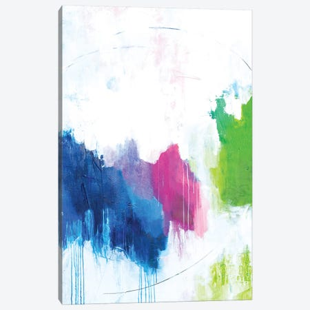 Love is Love Canvas Print #AHM129} by Julie Ahmad Art Print