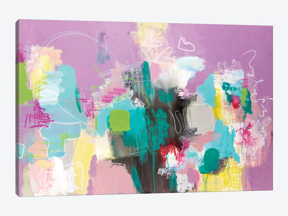 Can't Get Enough by Julie Ahmad 1-piece Art Print