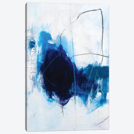 True Blue  Canvas Print #AHM147} by Julie Ahmad Canvas Art