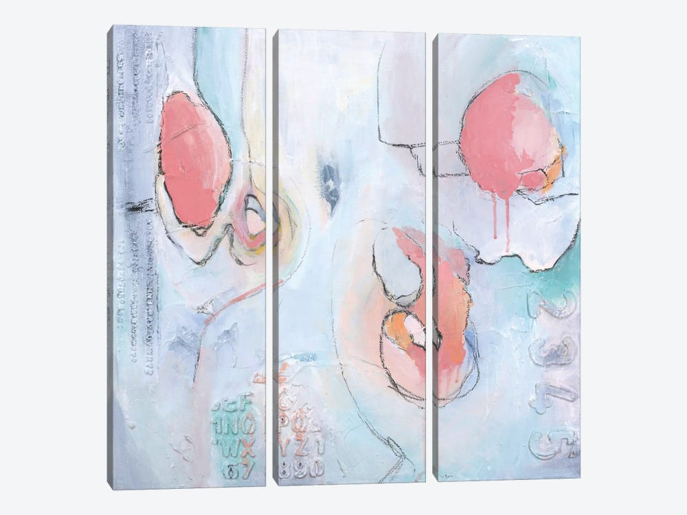 Chloe by Julie Ahmad 3-piece Canvas Art Print