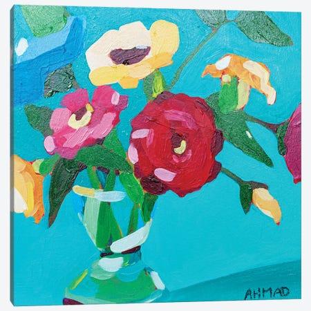 Billie Jean 3-Piece Canvas #AHM152} by Julie Ahmad Canvas Art
