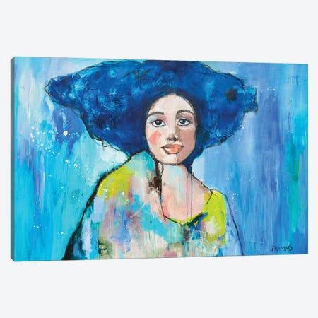 Earth Queen Canvas Print #AHM155} by Julie Ahmad Canvas Print