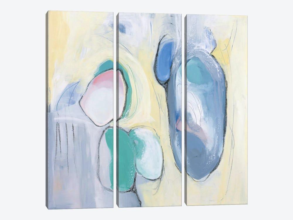 For Kelmy by Julie Ahmad 3-piece Canvas Print