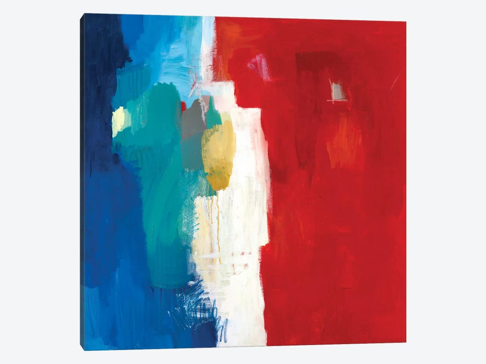 Mixed Signals by Julie Ahmad 1-piece Canvas Artwork