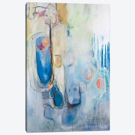Out Of The Blue Canvas Print #AHM29} by Julie Ahmad Canvas Art Print