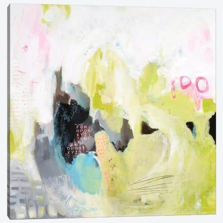 Alphabet City I Canvas Print #AHM2} by Julie Ahmad Canvas Print