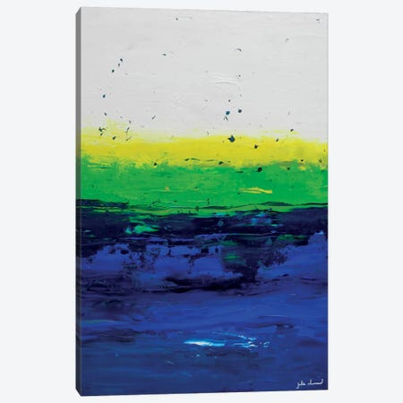 Smooth Sailin' Canvas Print #AHM34} by Julie Ahmad Art Print