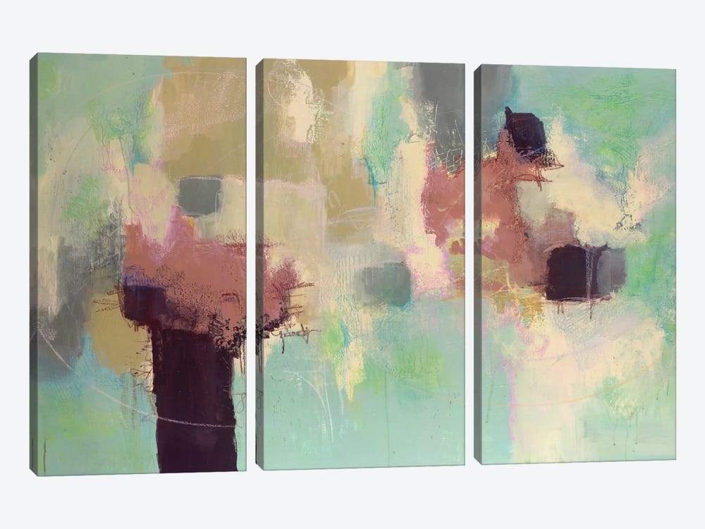 Sunday Morning by Julie Ahmad 3-piece Canvas Print