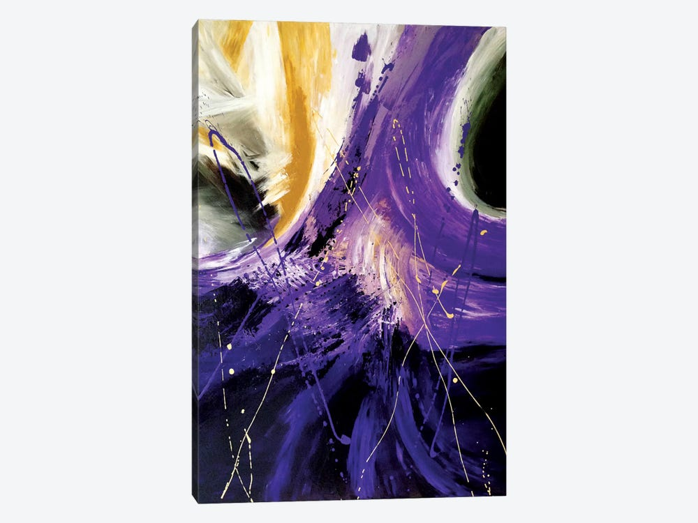 The Final Frontier by Julie Ahmad 1-piece Canvas Wall Art