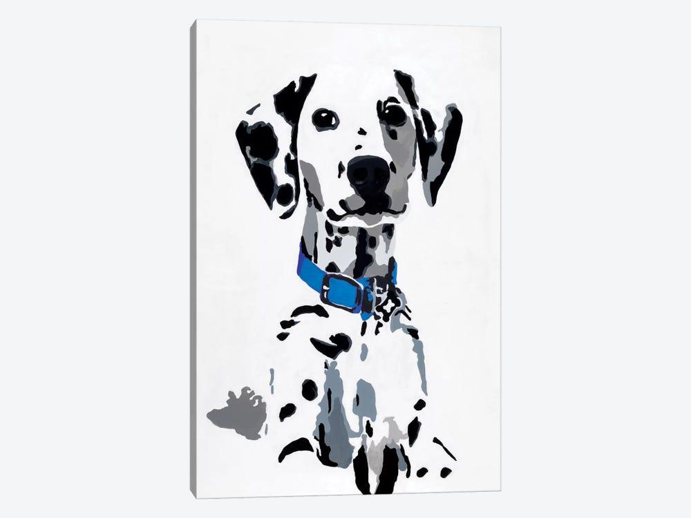 Winnie I (Blue Collar) by Julie Ahmad 1-piece Art Print