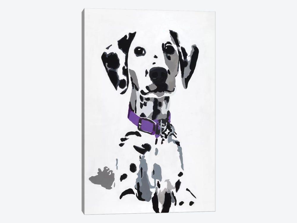 Winnie III (Purple Collar) by Julie Ahmad 1-piece Canvas Print