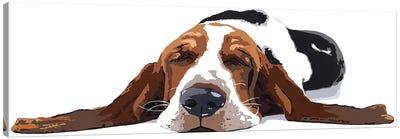 Workin' Like A Dog Canvas Art Print