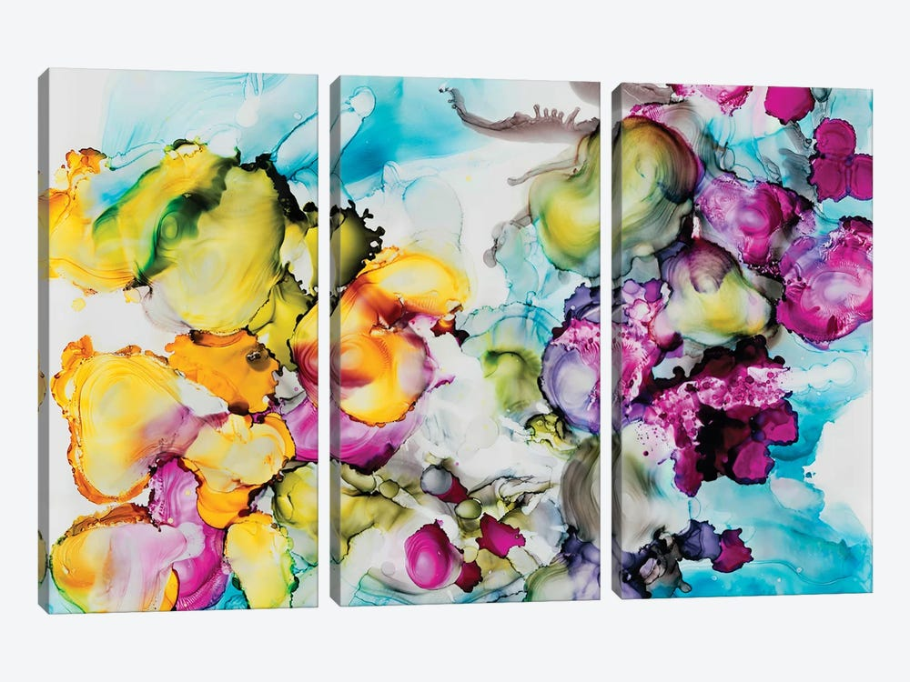 Another Dimension by Julie Ahmad 3-piece Canvas Art