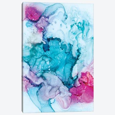 Candied Coral Canvas Print #AHM57} by Julie Ahmad Art Print