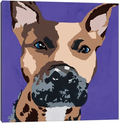 Prince The Pit On Purple Canvas Art Print