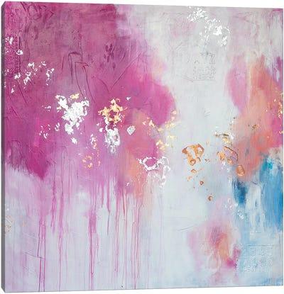 Butterfly Kisses Canvas Art Print