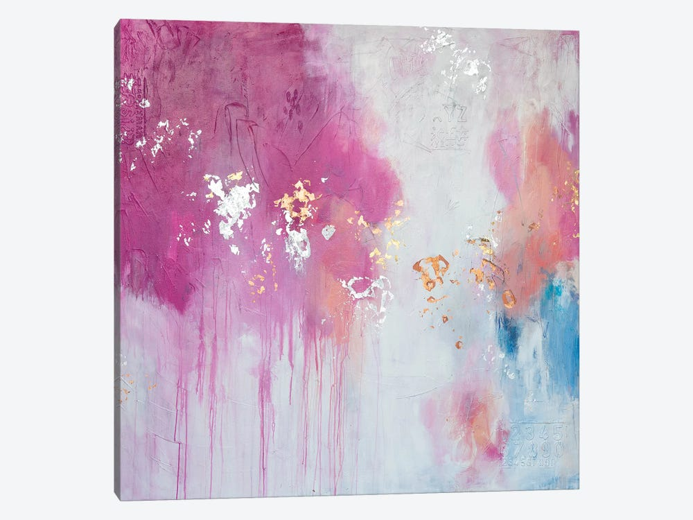 Butterfly Kisses by Julie Ahmad 1-piece Canvas Wall Art