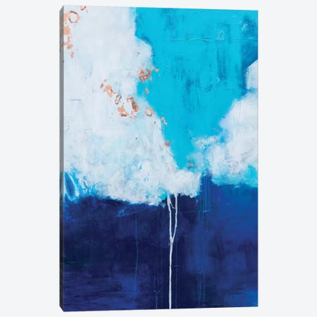 Dark And Stormy Daniels Canvas Print #AHM95} by Julie Ahmad Canvas Art Print