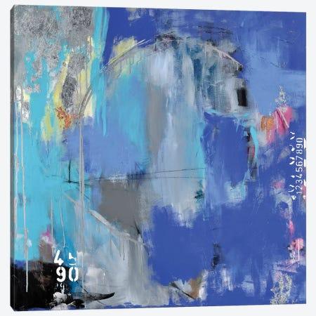 Full Throttle Canvas Print #AHM96} by Julie Ahmad Canvas Art Print
