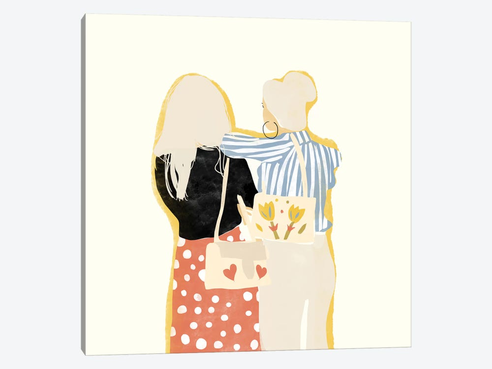 Fashion Friends by Alja Horvat 1-piece Canvas Art