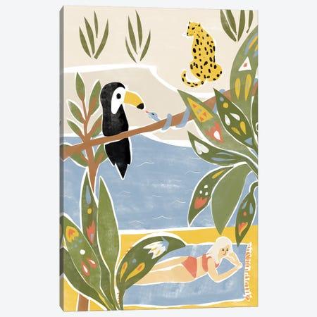 Jungle Canvas Print #AHO19} by Alja Horvat Canvas Artwork