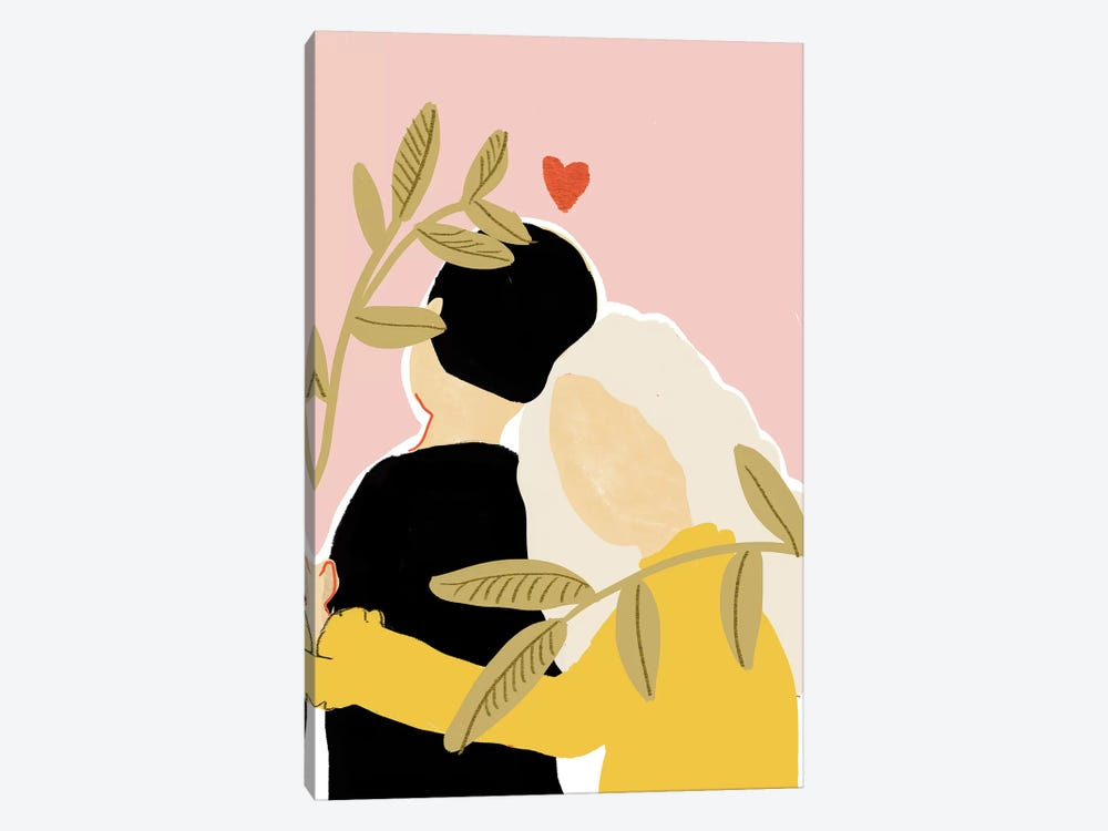 Lovers by Alja Horvat 1-piece Canvas Wall Art